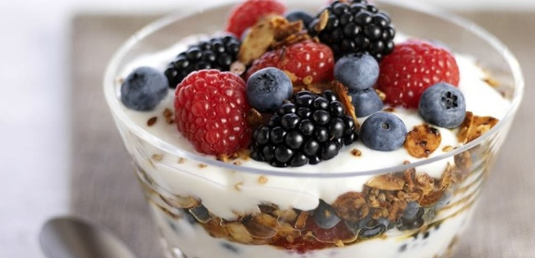 Image result for granola and yogurt