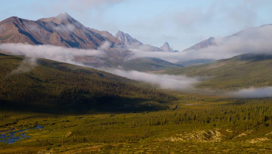 wide alaskan landscape