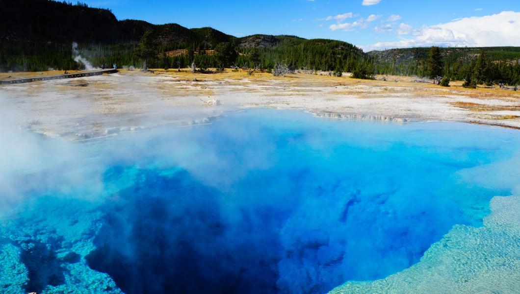 Sapphire Pool,Yellowstone National Park,Wyoming