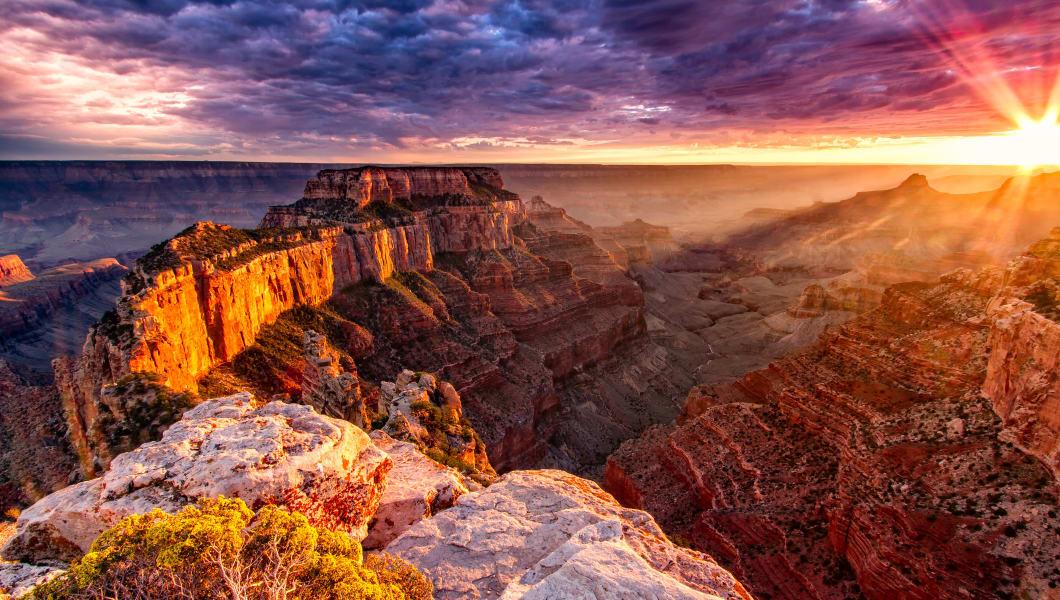 North Rim Grand Canyon Cape Royal