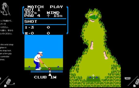 任天堂スイッチに隠しファミコン エミュ、故 岩田聡氏の命日に『ゴルフ』が起動?