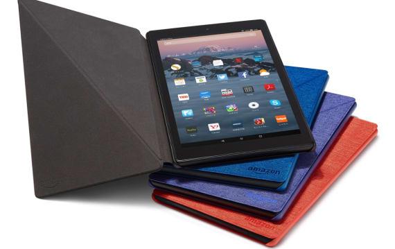 速報:アマゾン、激安中性能タブレット新Fire HD 10発表。1万4980円でフルHD・ステレオ音響