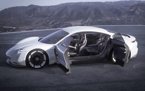 ポルシェ初の市販EV「ミッションE」、予定価格帯はテスラ モデルS 100Dと同等に。市販化へのデザイン変更はわずか