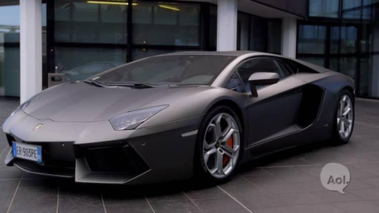 The List: Drive a Lamborghini