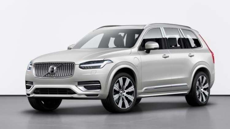 2020 Volvo XC90 refresh will add electrified 'B' variant