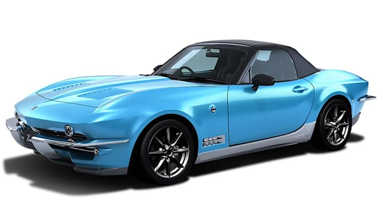 Mitsuoka Rock Star is a Miata in a Chevy Corvette Sting Ray disguise
