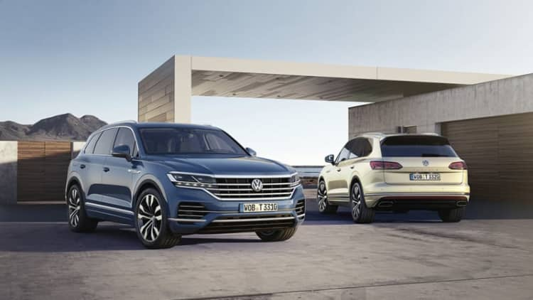 VW reveals the new Touareg, but not for America