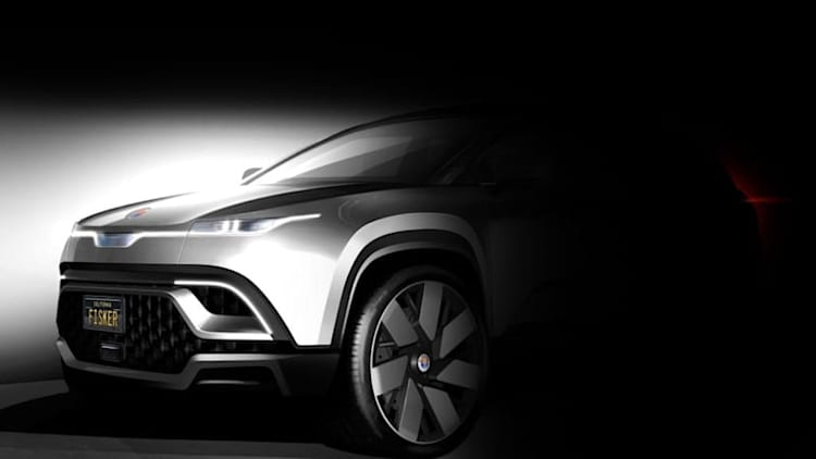 Fisker teases electric crossover, considers 11 states for production