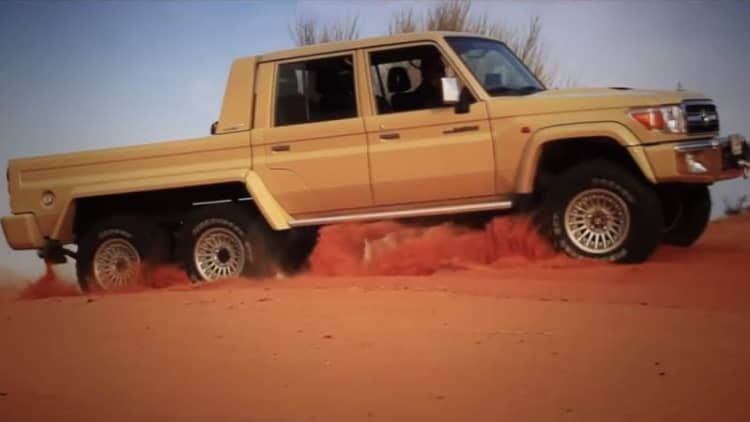 This 6x6 Toyota Land Cruiser ain't afraid of no G63 AMG 6x6