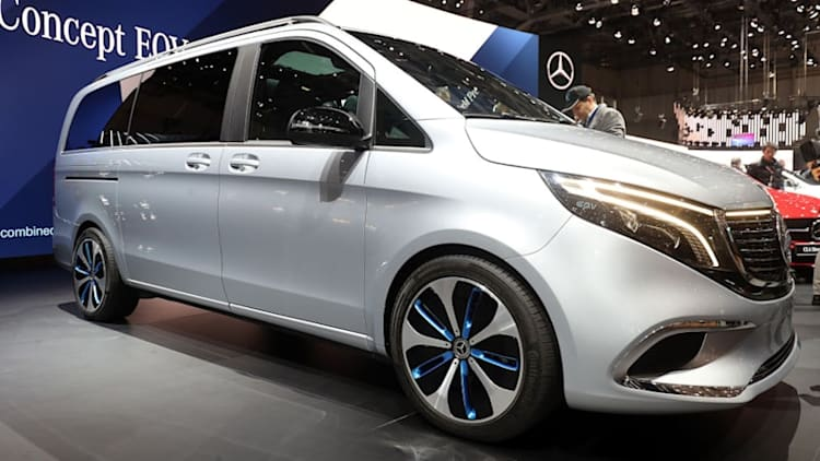 5 discoveries about the Mercedes-Benz Concept EQV electric van