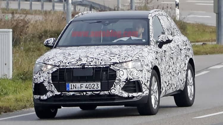 Next-generation Audi Q3 gets the corporate makeover