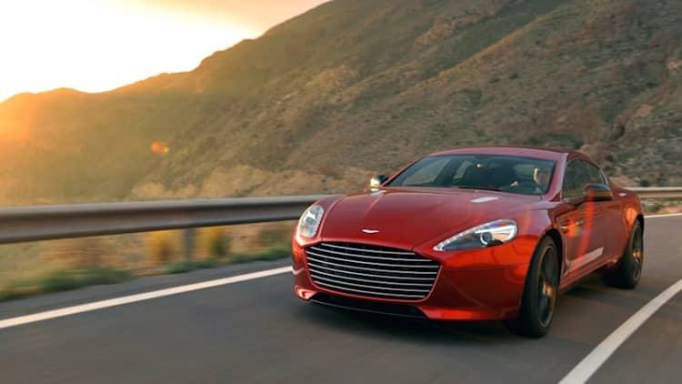 Enterprise adds Aston Martin DB9, Rapide S to rental fleet