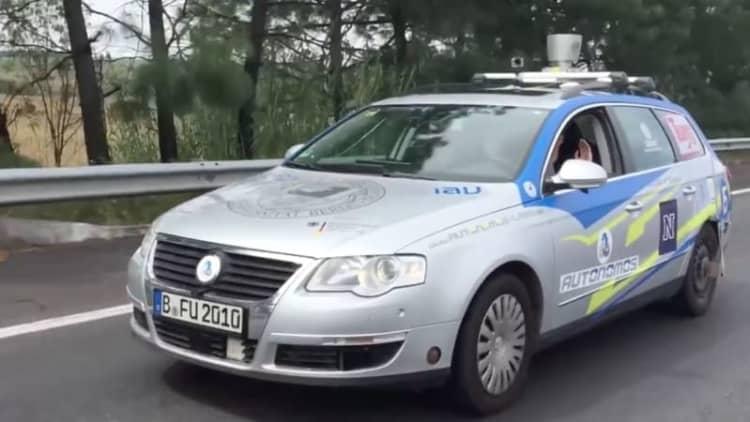 Autonomous VW makes 1,500-mile trek through Mexico