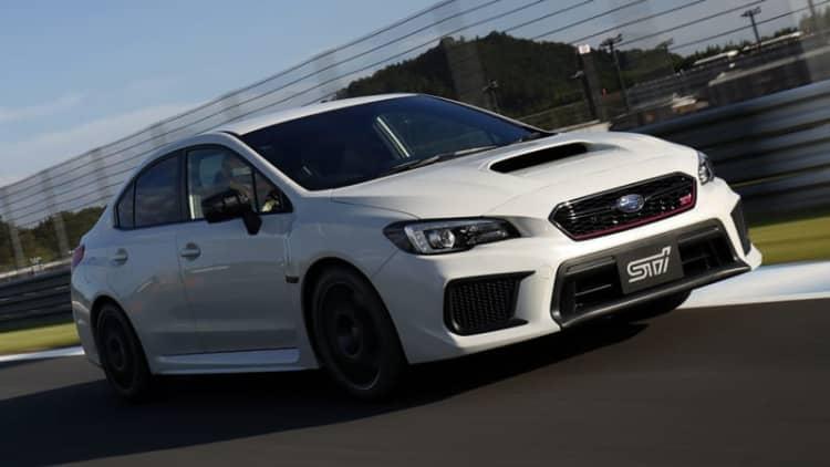 Subaru WRX STI Type RA-R has more power, less weight