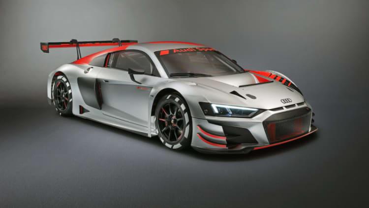 Audi Sport unveils 2019 R8 LMS GT3 in Paris