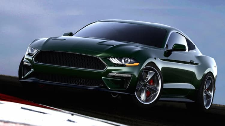 775-hp Steve McQueen Edition Ford Mustang Bullitt unveiled by Steeda