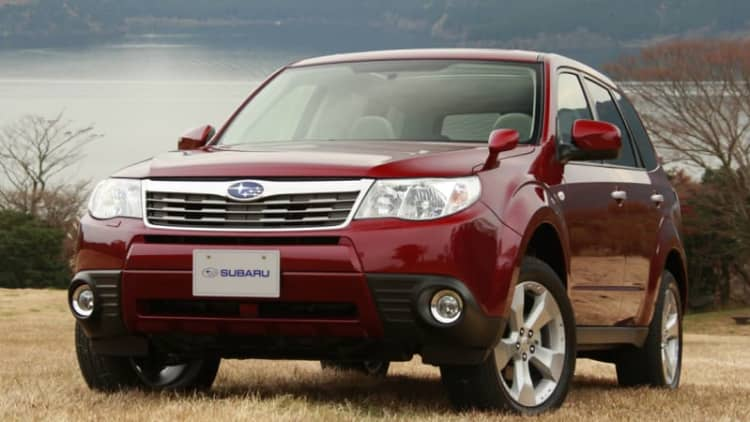 Subaru recalls 200k vehicles in snowy states to reapply anti-corrosion wax