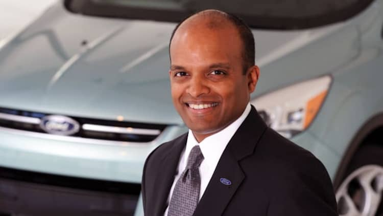 Ousted Ford exec Raj Nair lands at firm that builds Ford GT