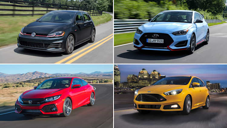 2019 Hyundai Veloster N vs. hot hatch rivals: How they compare on paper