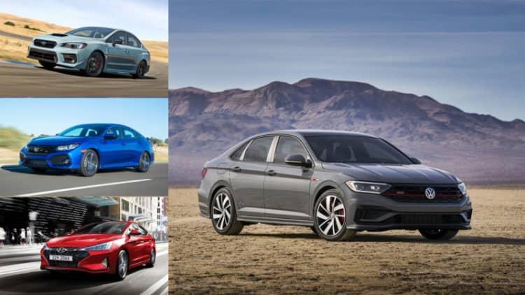 2019 Volkswagen Jetta GLI vs. sport compact sedans: How they compare on paper