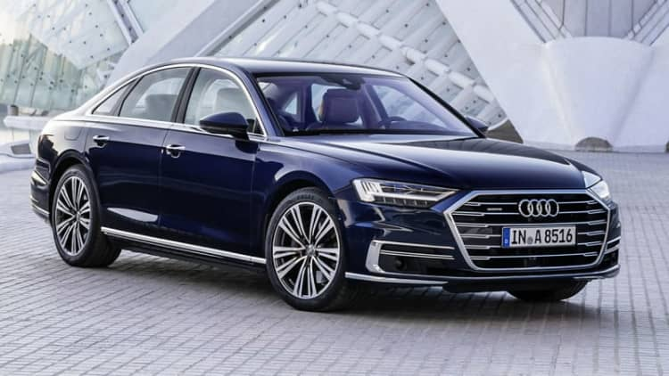 2019 Audi A8 starts at $84,795 with a turbocharged V6