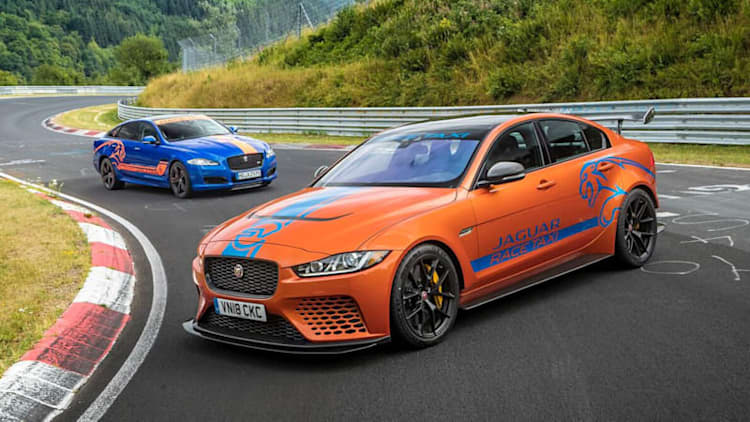 Jaguar XE SV Project 8 now available for Nurburgring rides