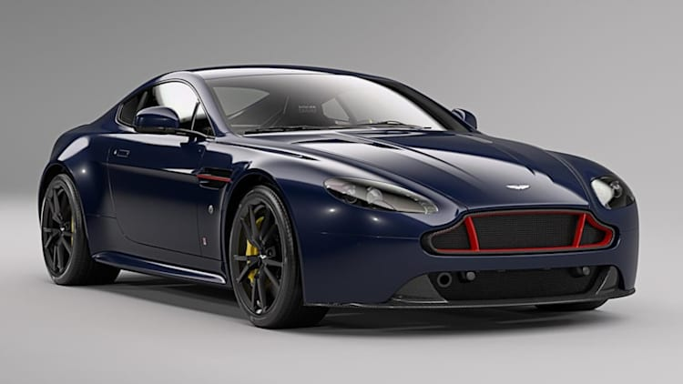 The Aston Martin Vantage Red Bull Racing Edition doesn't have an F1 engine but still looks sweet