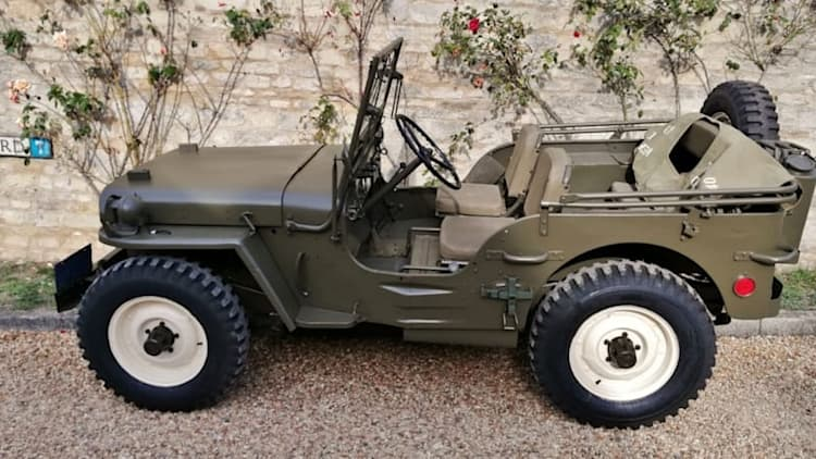 Steve McQueen's U.S. Army Willys Jeep is up for auction