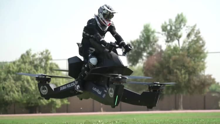 Of course the Dubai police have a hoverbike