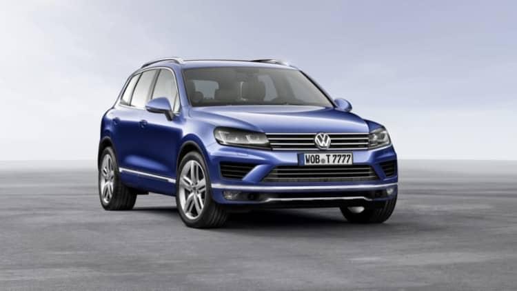Volkswagen Touareg Hybrid Axed For 2016