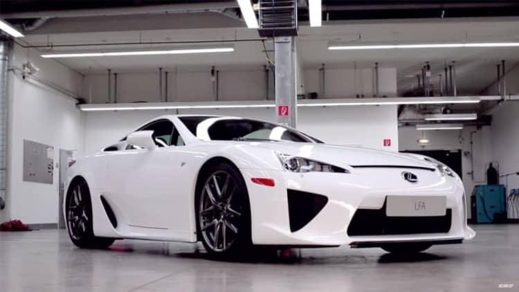 Xcar gets Lexus LFA serviced at TMG
