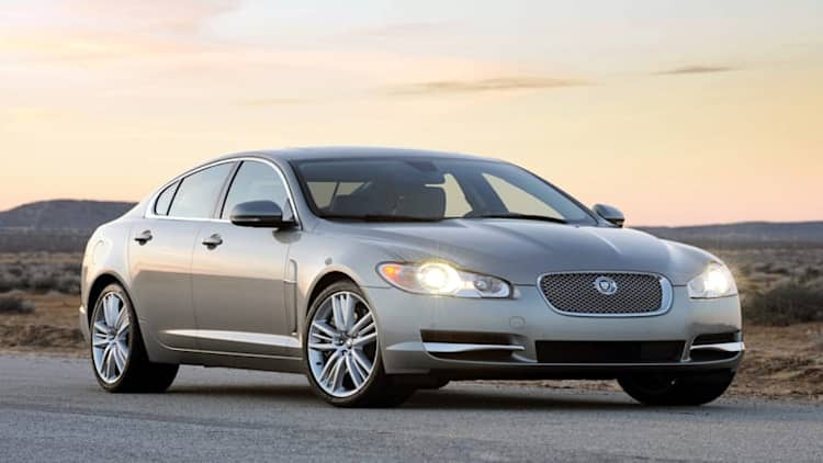 Jaguar xf recalls