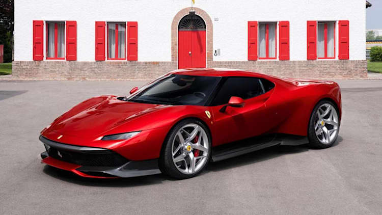Ferrari SP38 is the latest one-off creation from the Prancing Horse