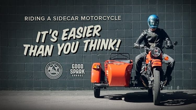 How to ride a Ural sidecar motorcycle in a few short hilarious steps