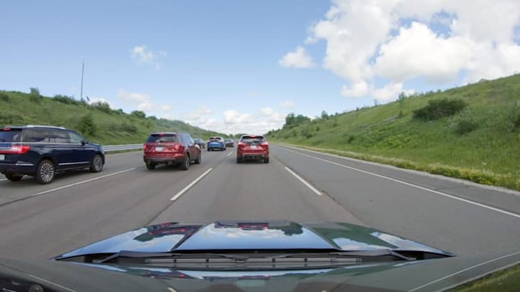 Ford video shows how adaptive cruise control eases traffic jams