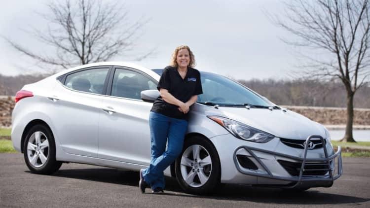 Woman drove her Hyundai Elantra 1 million miles in five years