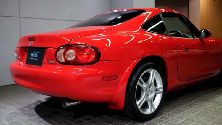 Super-rare Mazda MX-5 Miata coupe pops up for sale