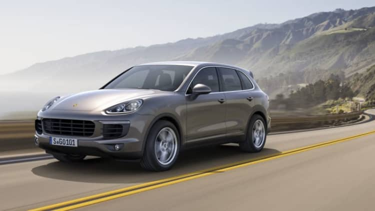 Volkswagen and Porsche recall Touareg and Cayenne