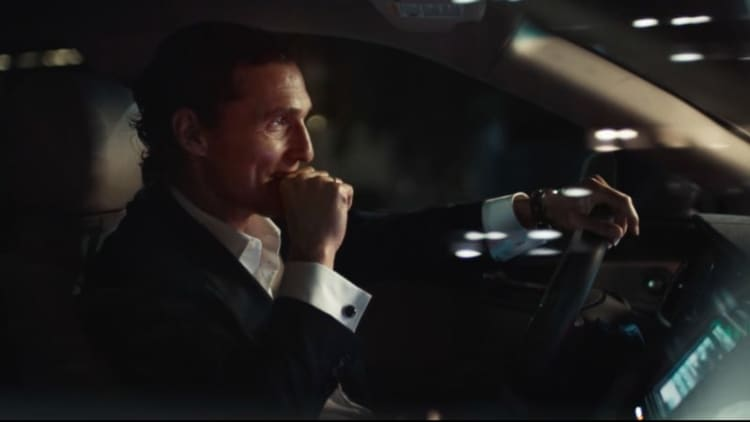 Matthew McConaughey returns in new Lincoln MKX ads