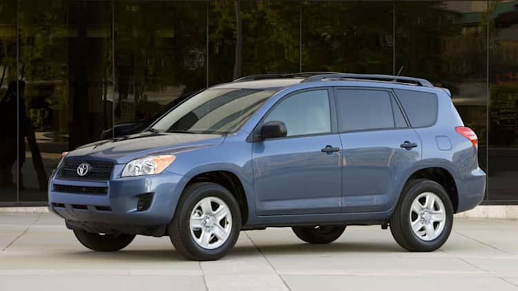 Toyota recalls more than 1 million RAV4s for seatbelt problem
