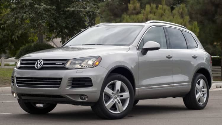 VW Group recalls 27k Touaregs, Audis and Porsches for fuel leak