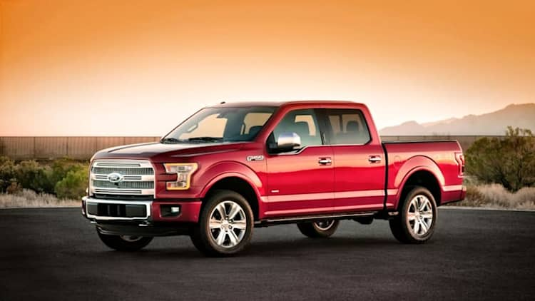 Ford recalls 3,200 2015 F-150s to replace seat belts