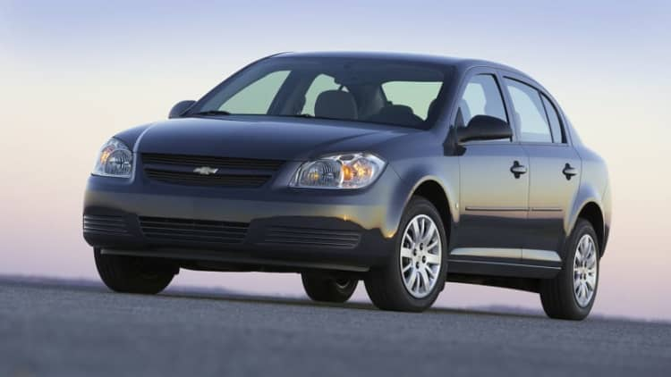 Chevy recalls 73k Cobalts for side airbag non-deployment