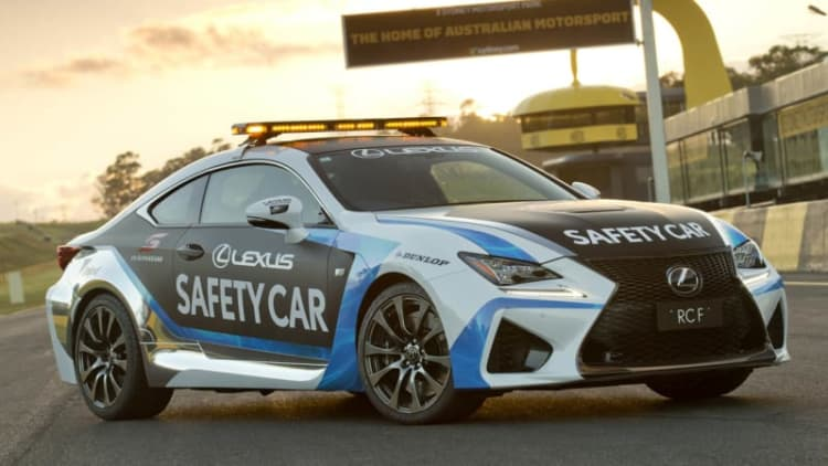 Lexus RC F sets the pace Down Under