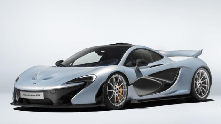 McLaren recalls P1 for faulty backup hood latch