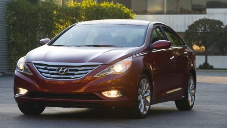 Hyundai recalls some 2011 Sonatas: Airbags might not deploy