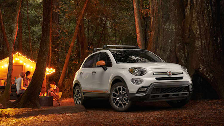 Fiat adds Adventurer Edition package to 2018 500X compact crossover