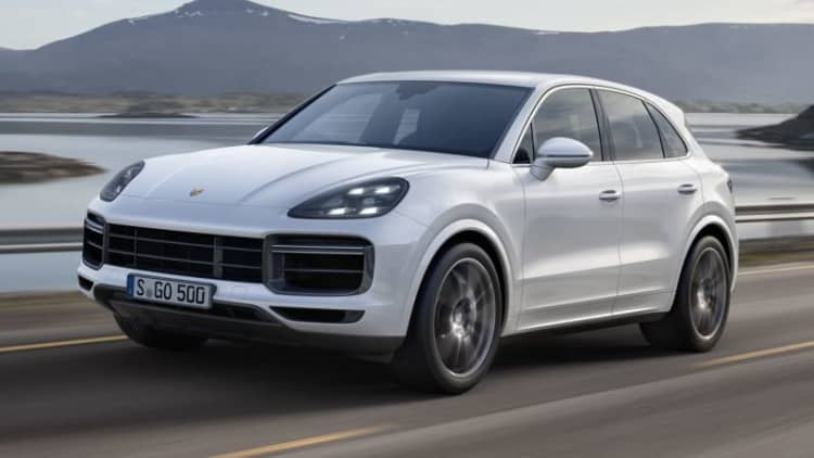 2019 Porsche Cayenne Turbo debuts in Frankfurt with 550 hp