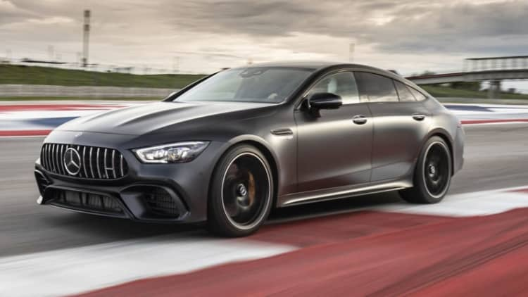 2019 Mercedes-AMG GT Four-Door starts at $137,000 — in some ways a bargain