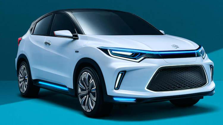 Honda Everus EV concept introduces a new car and brand